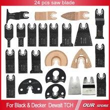 24 pcs oscillant Multi tool scies pour Fein TCH power tool accessoires, Décoration de la maison, Bois de coupe de métal, Livraison gratuite