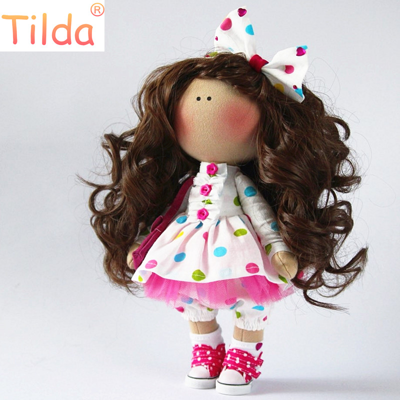 Tilda doll Shoes 5cm Shoes Polka Dot Canvas For BJD Doll,Textile Doll Boots 1/6 Designer Point Sneakers for Hand Sewing Dolls tilda 5pairs lot 5cm canvas sneak for bjd doll mini textile doll boots 1 6 polka dots designer sneakers shoes for handmade dolls