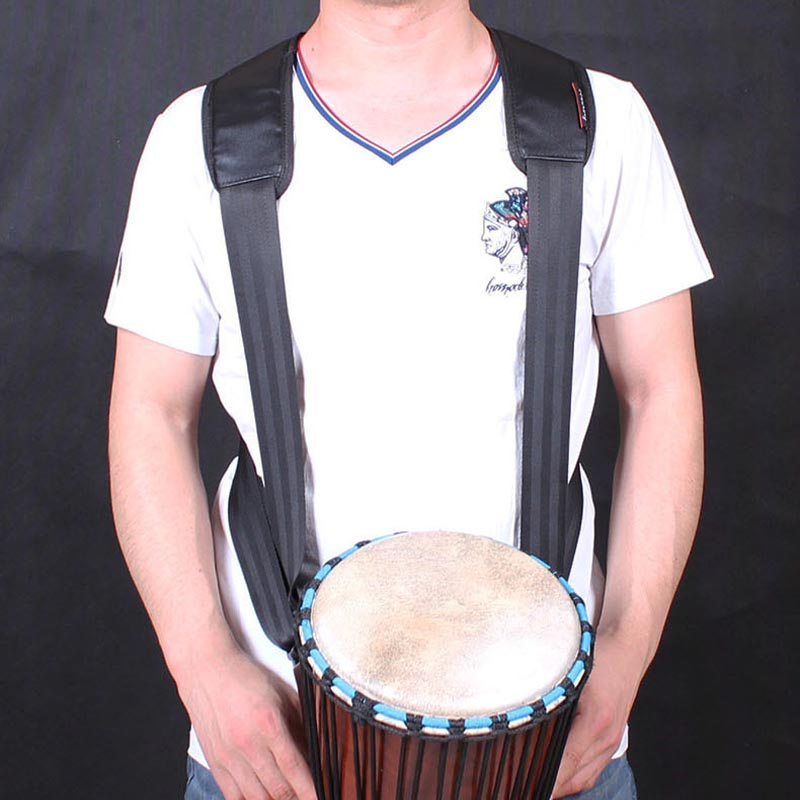 professional pu djembe strap african hand drum belt percussion accessories free shipping in. Black Bedroom Furniture Sets. Home Design Ideas