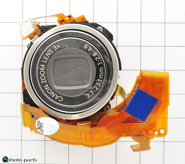 Specified color!Original zoom lens +CCD unit For Canon IXUS750;IXY700;SD550;PC1169;IXUS 750 camera