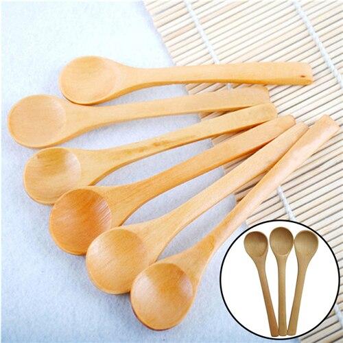 6 PCS Bamboo Utensils