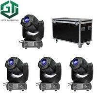 4 pçs/lote Alto brilho 90 W LED moving head Spot Light LED iluminação de palco iluminação 3-faceta Prisma Duas rodas Gobo função