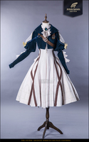 IN STOCK Japanese Anime Violet Evergarden Cosplay Costume Daily Suits Hot Sale Gorgeous Dress