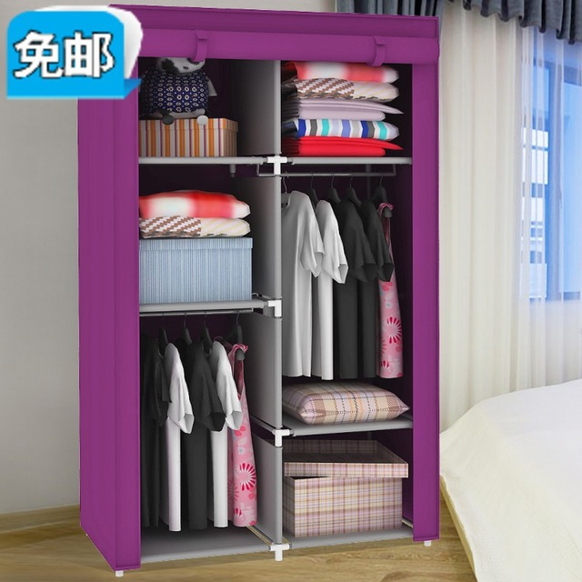 IKEA Dust Cloth Wardrobe Simple Finishing Cabinets Bearing Steel Super  Hanging Closet Storage Closet Shipping No