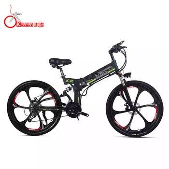 26 дюймов Электрический горный велосипед 48V400W высокоскоростной двигатель Leichte rahmen versteckte литий-аккумулятор электровелосипеда ebike