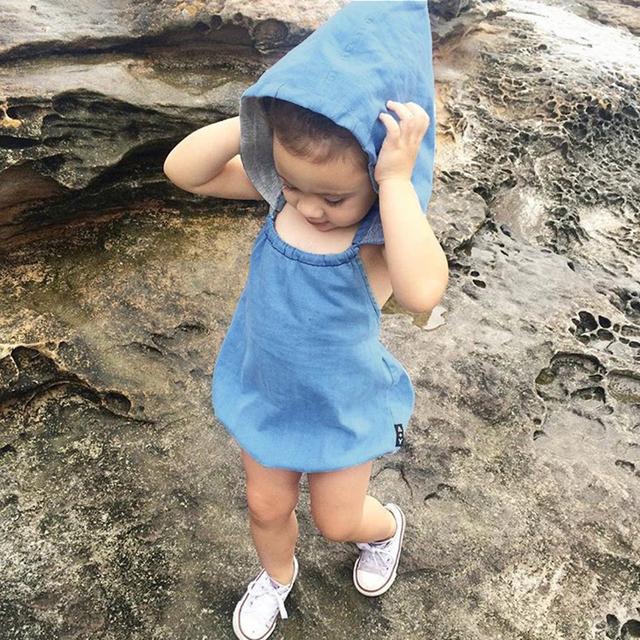 2A-5Y BEBÊ BODYSUITS Corpo 100% Algodão para Meninos Das Meninas Do Bebê Roupas Crianças Com Capuz Bodysuits para meninas macacões Roupas Para Crianças