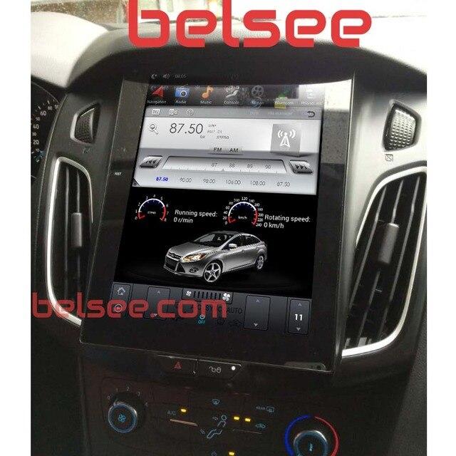 """Belsee 10,4 """"Тесла Стиль вертикальный Экран Android 7,1 радио головное устройство стерео мультимедиа авторадио Navi для Ford Focus 2012 -2017"""