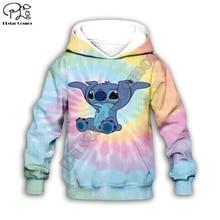 Anime kawaii Lilo Stitch 3d print Kids Cartoon pink Hoodies/zipper/child baby long sleeve sweatshirt/tshirt/summer shorts/pant anime cartoon lilo