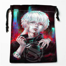 R-211 New tokyo ghoul ANIME &9 Custom Logo Printed  receive bag  Bag Compression Type drawstring bags size 18X22cm T801T211UW