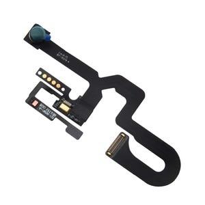 Image 4 - 센서가있는 앞면 카메라 근접 조명 마이크 플렉스 케이블 + 이어 피스 + iPhone 7 7Plus 8 Plus 용 방수 테이프