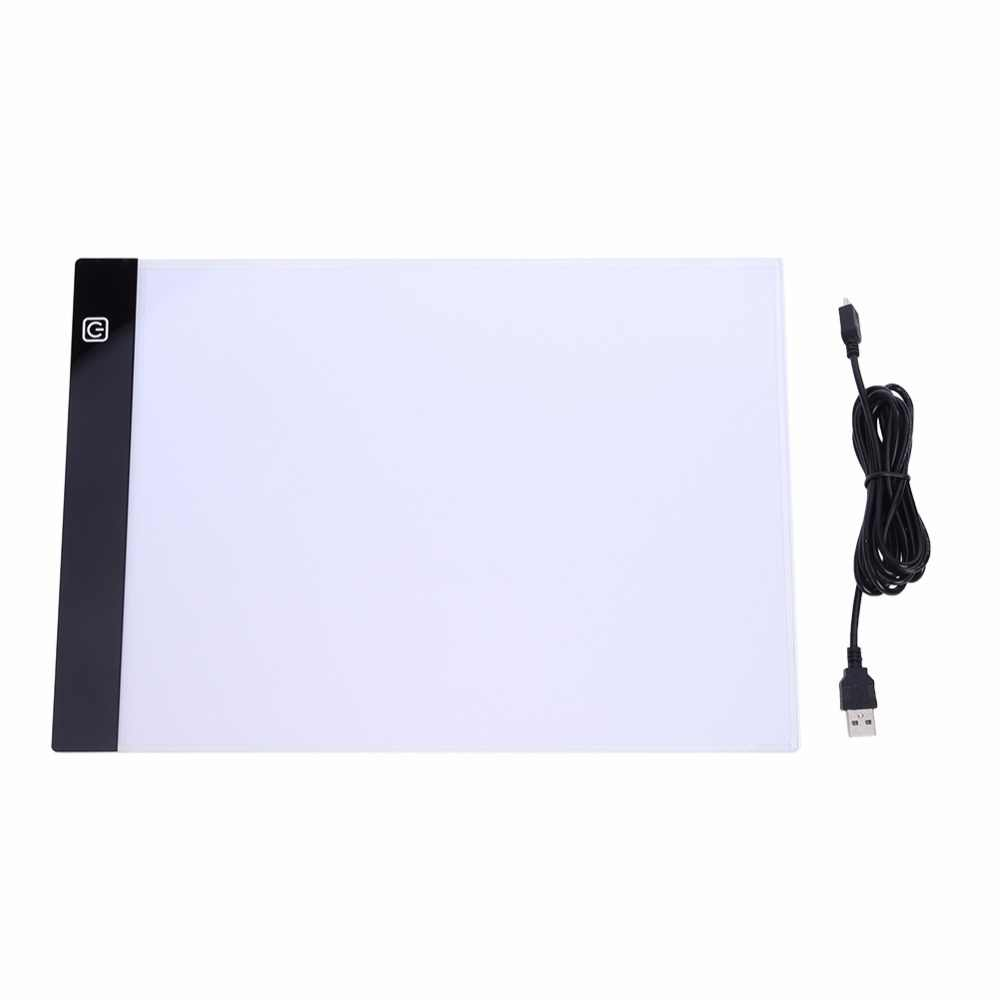 LED Diamond Painting Light Pad Lightpad Board Diamond Painting Accessories Tool Kits A4 A5 Drawing Graphic Tablet Box