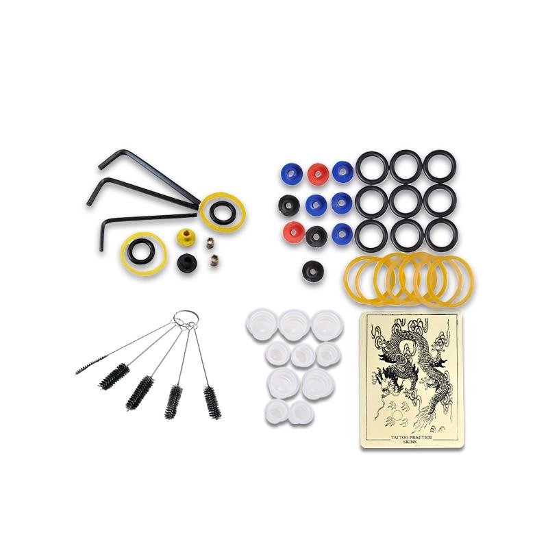 Beginners Tattoo Starter Kit 2 Gun Machines 10 Bläck Sets - Tatuering och kroppskonst - Foto 6