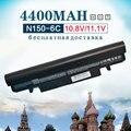 6 células bateria do portátil para samsung aa-pl2vc6w/e n100 n143 n143p n145p n148 n150 n148p n150p n250 n260 n250p n260p np-n100