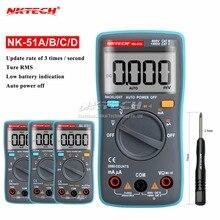 NK51A VS RM102 Diagnostic-tool Digital Multimeter 6000Counts Backlight AC/DC Ohm Ammeter Temperature NK51B NK51C NK51D LC meter