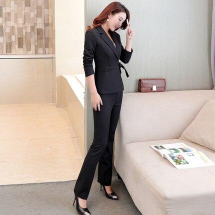 Définit Dames 2019 Blazers Blazer Nouveau black Pantalon Wine Polyester Red Rouge Lx30 Automne Costumes Feminina Wear Sping D'affaires Femmes Et Work xPnnqwFC