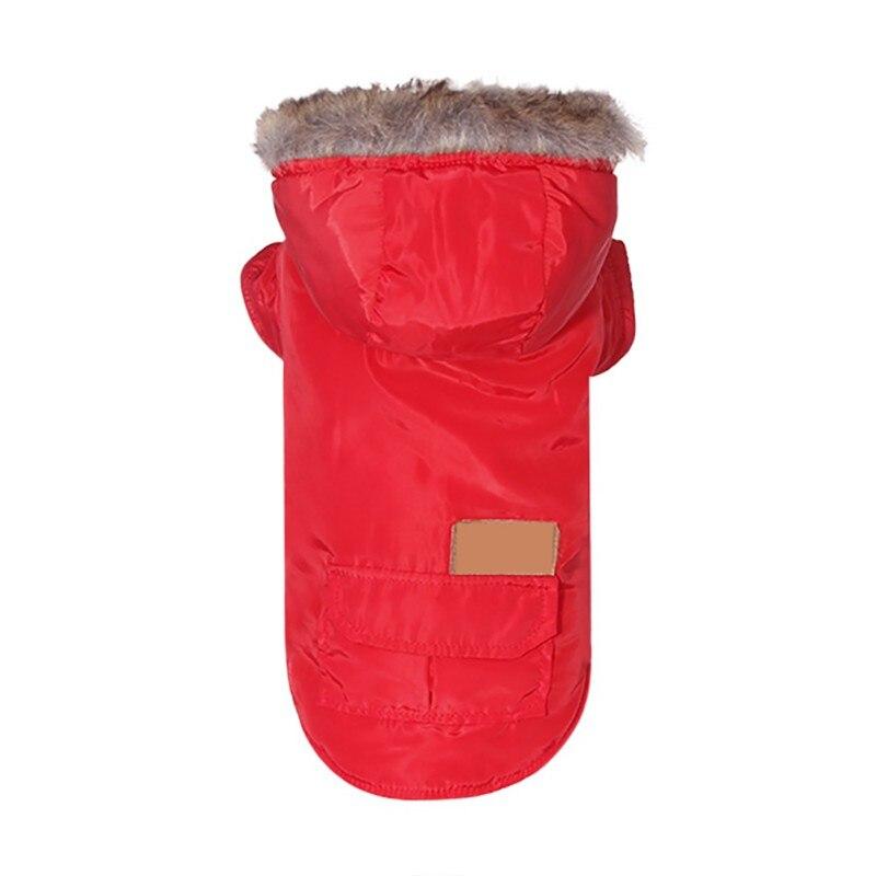 Костюм для домашних собак, зимние теплые парки для собак, одежда для маленьких собак, пуховое пальто чихуахуа, йоркширская одежда, лыжная куртка-5