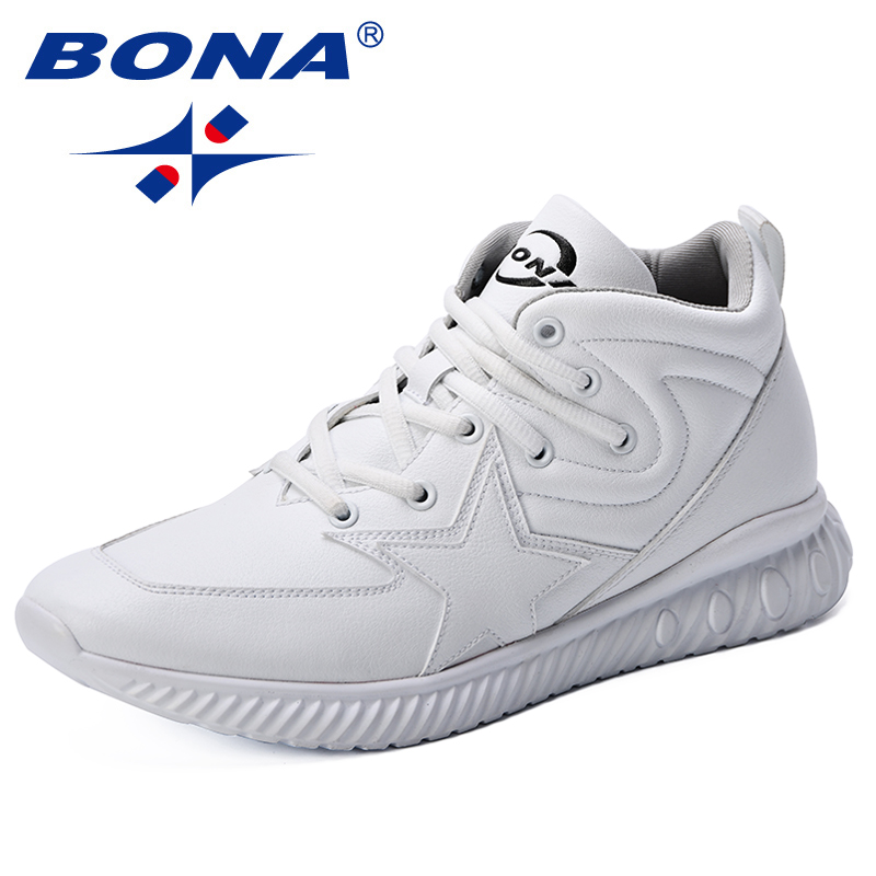 BONA New Design Men Running Shoes Plus Sizes Men Footwear Breathable Jogging Trainers Sneakers Men Athletic