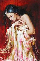 Canvas Oil Painting Beautiful Naked Women Sex Images Painting Pictures of Girls Oil Paintings Sexy Art For Bedroom Decor