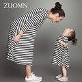 Mommy and me roupas da família mãe e filha combinando vestidos olhar família outfits bebê meninas kids clothing vestido mãe gh411