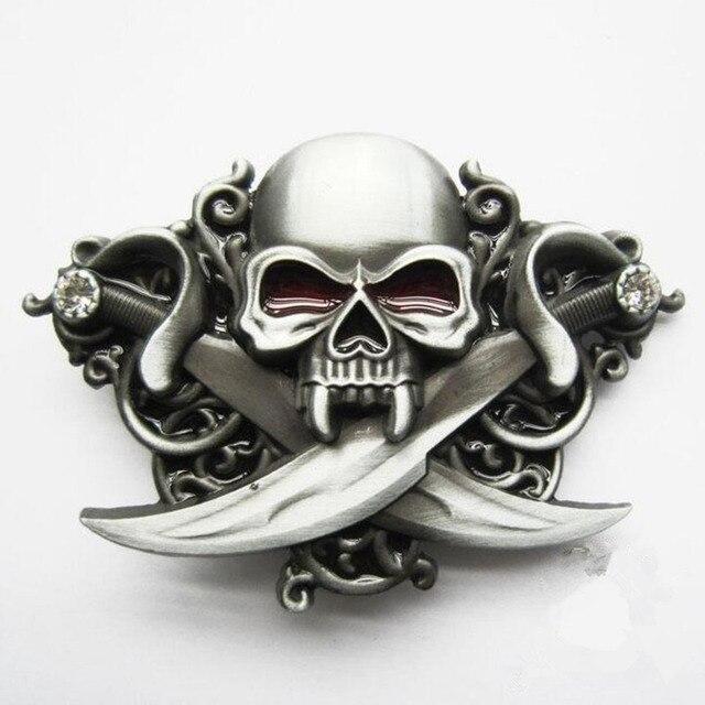 Pirates crâne Tête boucles de ceinture unique Des Caraïbes Azrael chance  ceinture boucle entreprise de Vente b60ca9295c5