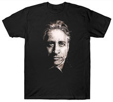 JON STEWART T SHIRT THE DAILY SHOW USA AMERICA S-5XL Harajuku Tops t shirt Fashion Classic Unique free shipping