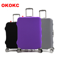 Cartoon Thicken Non Woven Travel Trolley Luggage Cover For 20 28inch Suitcase Protective Cover Travel Accessories