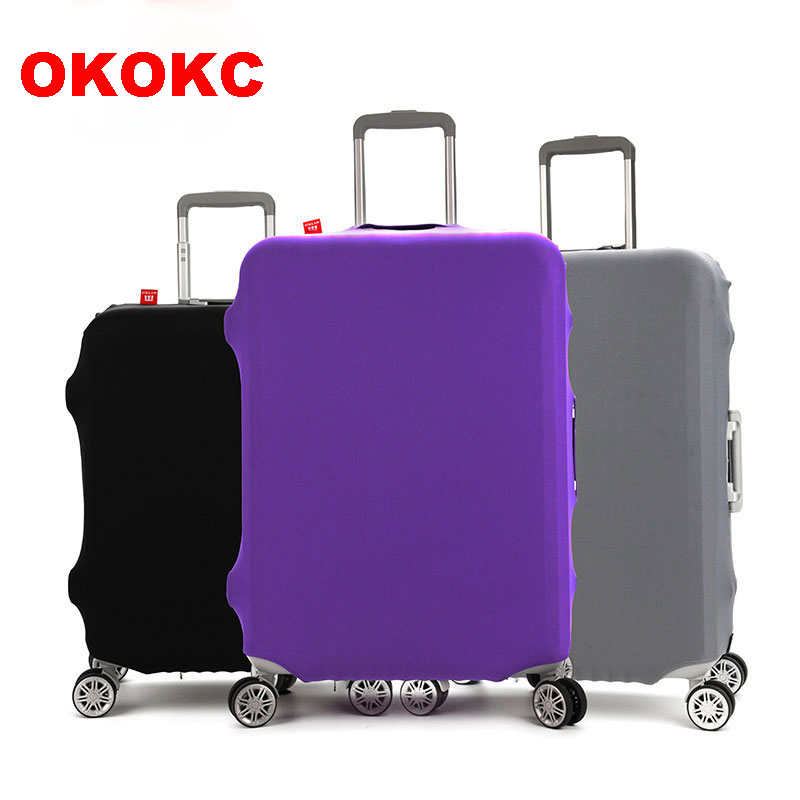 OKOKC Thicken Wearable Pure Color Travel Bagageväska Skyddslock, - Resetillbehör - Foto 1