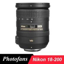 Nikon 18-200 объектив Nikkor AF-S DX 18-200mm f/3,5-5,6G ED VR II Объективы для Nikon D3100 D3200 D3300 D5500 D5300 D90 D7200 D7100