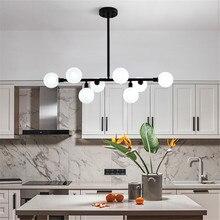 Modern Nordic Chandelier Living Room Lustres De Teto Lighting Led Dining Loft Deco Reading