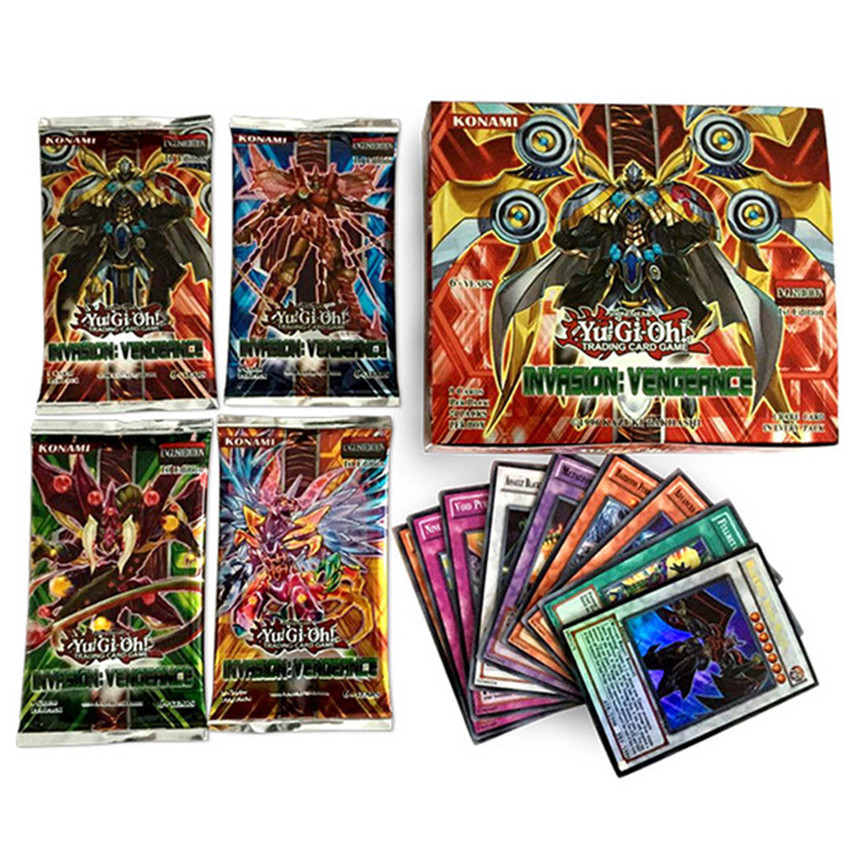 216pcs English Yu Gi Oh Yugioh Collection Cards Card Paper Cards Game  Board Game Anime Action Figure Toy Hobby Collectibles