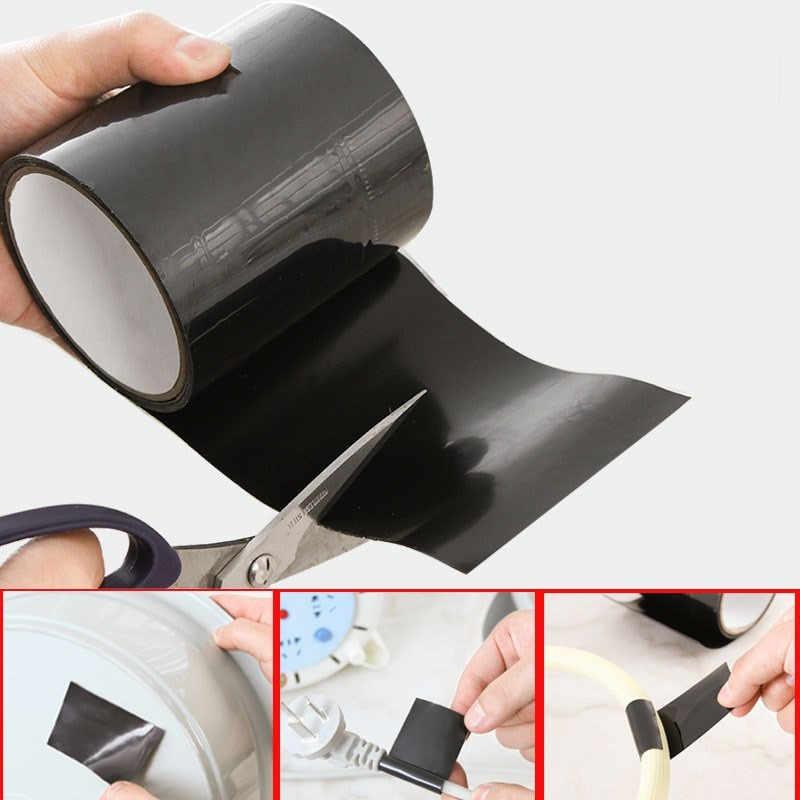 1.52 M Super Kuat Serat Tahan Air Menghentikan Kebocoran Segel Perbaikan Tape Kinerja Self Serat Memperbaiki Tape Pipa Perbaikan Tape