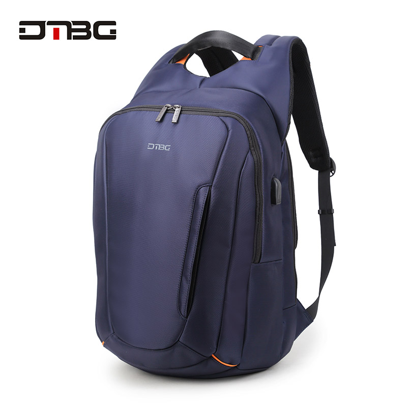 DTBG High Quality Smart 15Inch Laptop Backpack for Men With External USB Charge Port Water Resistant Travel School Computer Bag