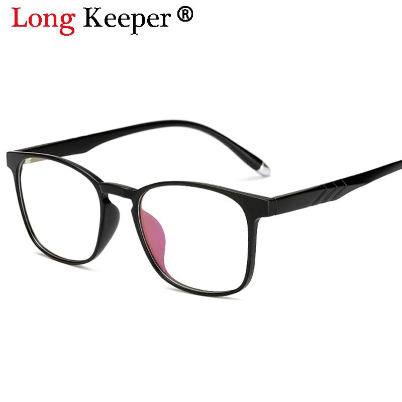 db06cd81f90 Long Keeper 2018 Fashion Eyeglasses Frames Glasses Trendy Unisex Men Women  Eye wear Frames Clear Lens