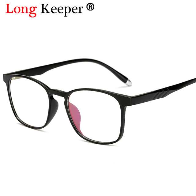 f3e143c967 Long Keeper 2018 Fashion Eyeglasses Frames Glasses Trendy Unisex Men Women  Eye wear Frames Clear Lens Glasses Square Frame 11751