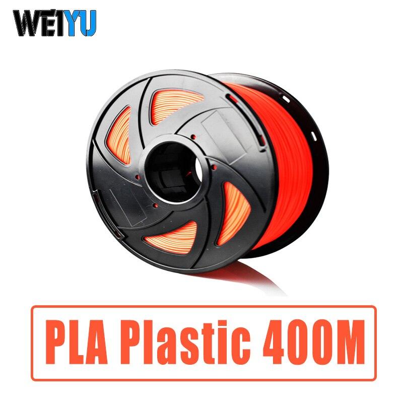 PLA Plastice Filaments Pour 3D Stylo/Imprimante 400 M 3d Imprimante Consommables 1 kg/Roll Impression Matériaux PLA fournitures pour 3D Impresora