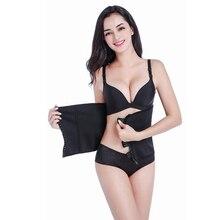 Mulheres Aptidão Ajustável Slimming Belt Body Shaper do corpo Cintura Fina Shapewear Shapers Empresa Recuperar Pós-parto Corset Cinto