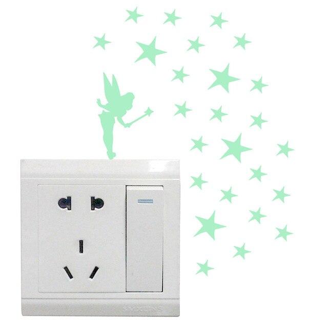 Pegatinas con luz para el interruptor