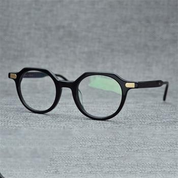 9ec115403d Gafas de acetato Vazrobe para hombre, gafas de marca para hombre, monturas  de gafas para hombre, gafas Retro para empollón y miopía