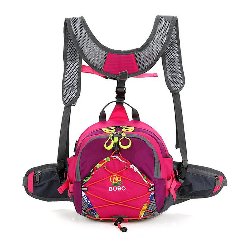 Al aire libre multifunción mochila alas forma impermeable grandes bolsillos  cordón bolsa ocio mochila mujeres bolsos de hombro b1eba69a3080a