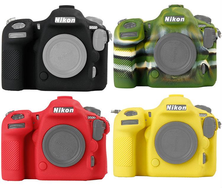 Prix pour Haute Qualité SLR Sac Photo pour Nikon D500 Léger Caméra Sac Housse pour Nikon Rouge/Jaune/Noir/vert couleur
