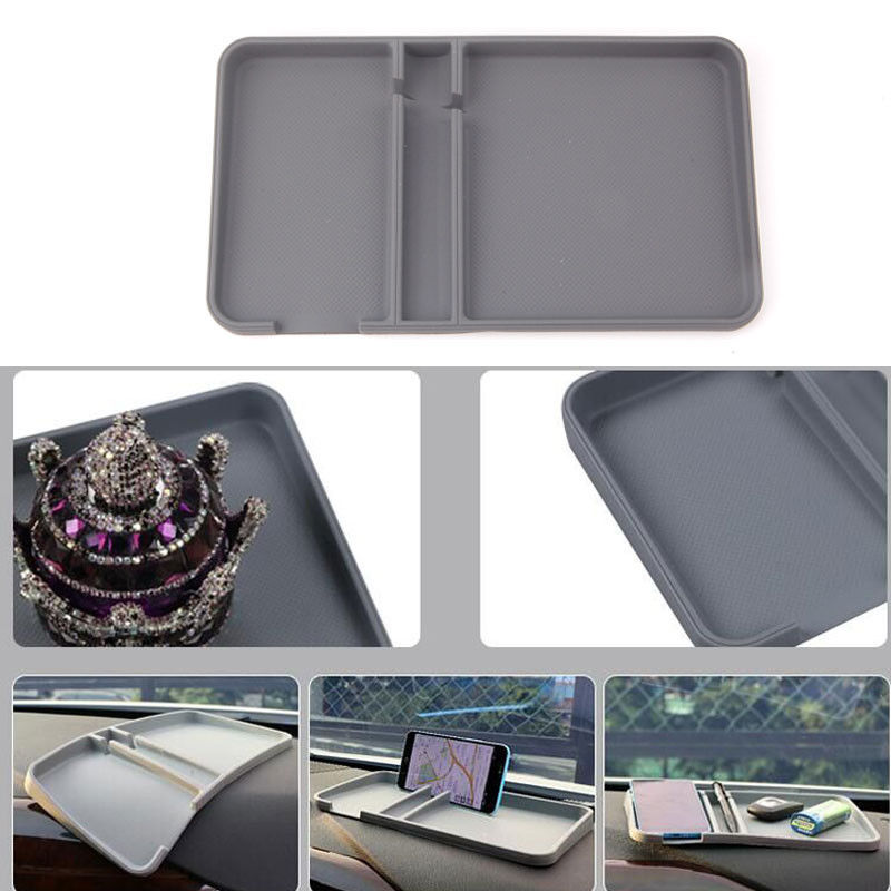 Vw Volkswagen Universal Holder Mobile Phone Adapter: BBQ@FUKA Silicon Anti Slip Dashboard Sticky Pad Mat Gadget