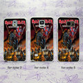 Iron Maiden archives Maiden England  Design hard White Skin Case Cover for Samsung Galaxy note 2 3 4 5 s4mini s6edge plus