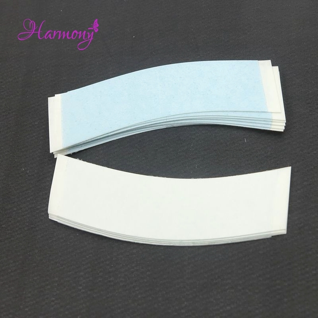 FREE-Shipping 36pcs/bag Hold 2-4 Weeks blue color Strong lace front support tape pieces for lace wig and toupee