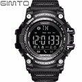 GIMTO Спортивные Часы Мужчины Цифровой Smart Watch Bluetooth Запуск Шагомер Хронограф Dive LED Военные Секундомер Для IOS Android