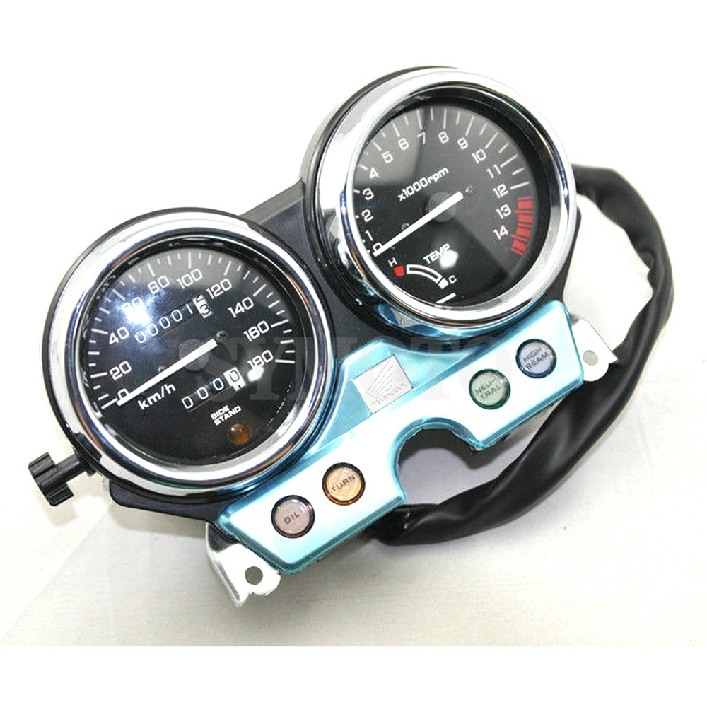 Motorcycle Gauges Cluster Speedometer Tachometer Meter Odometer Instrument Assembly For Honda CB400 CB400SF MC31 1992 1994
