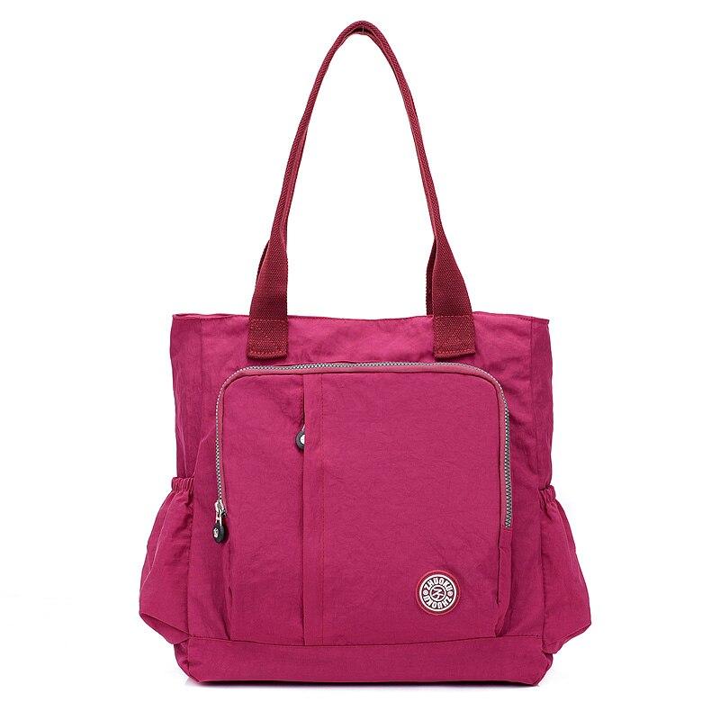 20ffd8a26 Las mujeres-MANGO bolso de hombro bolso de diseñador de marca famosa de  Nylon mujer Casual bolso vagabundos bolso bolsas de mensajeroUSD 9.56/piece