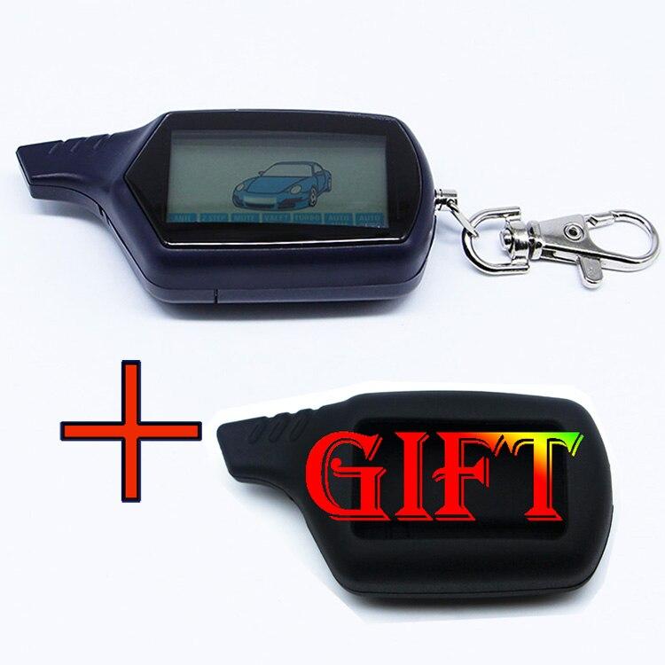 Starline B6 Twage Lcd Fernbedienung Schlüsselanhänger Kette/keychain für Fahrzeugsicherheit Starline B6 Zweiwegautowarnungssystem System