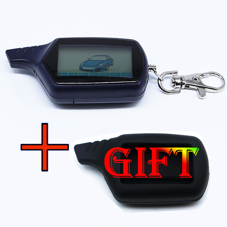 Starline B6 Twage Lcd Remote Control Key Fob Chain /keychain for Vehicle Security Starline B6 Two Way Car Alarm System