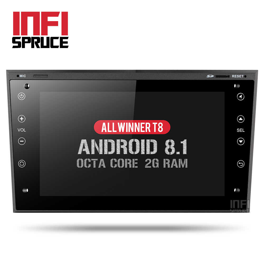 Android 8 1 Car dvd for Opel Vauxhall Astra Meriva Vectra