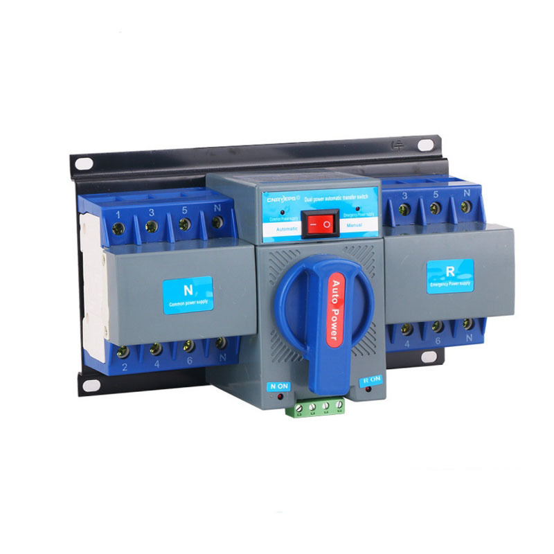 Both Power Supply Automatic manual transfer Change-over Switch 4P 380V Exit Mini Type circuit mcb breakerBoth Power Supply Automatic manual transfer Change-over Switch 4P 380V Exit Mini Type circuit mcb breaker